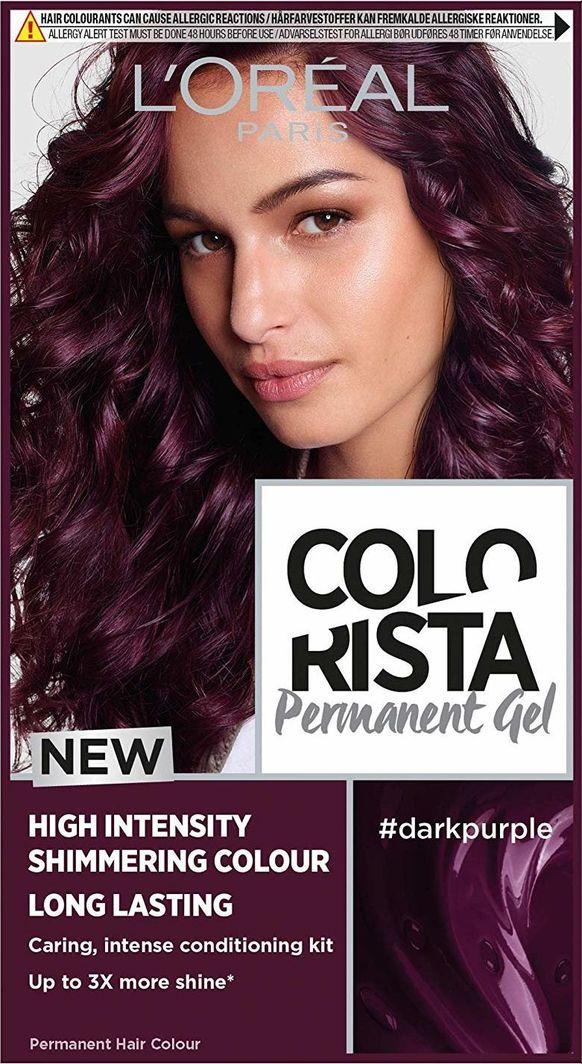 L'Oreal Professionnel Trwała Farba do włosów Colorista Dark Purple 1