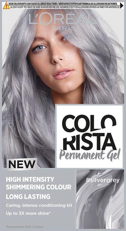 L'Oreal Professionnel Trwała Farba do włosów Colorista Silver 1