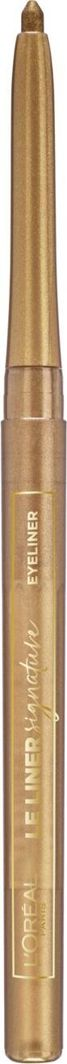 L'Oreal Paris Le Liner Signature eyeliner w kredce, 04 Gold Velvet 1