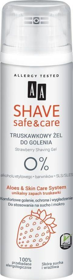 AA AA_Shave Safe&Care żel do golenia Truskawka 200ml 1