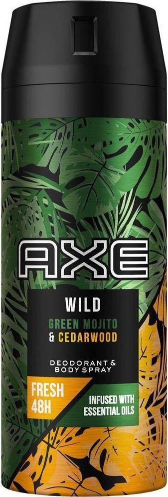 Axe Wild Green Mojito Cedarwood DEO spray, 150 ml 1