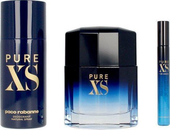 Paco Rabanne Pure XS Men Edt spray 100ml+Edt spray 10ml+Deo spray 100ml 1