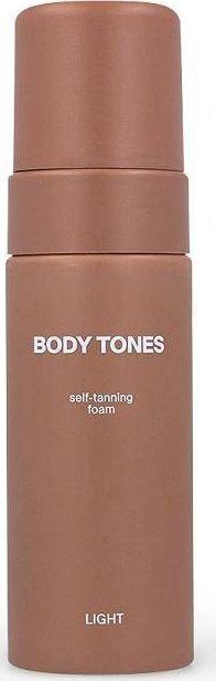 Body Tones BODY TONES_Self-Tanning Foam samoopalająca pianka do ciała Light 160ml 1