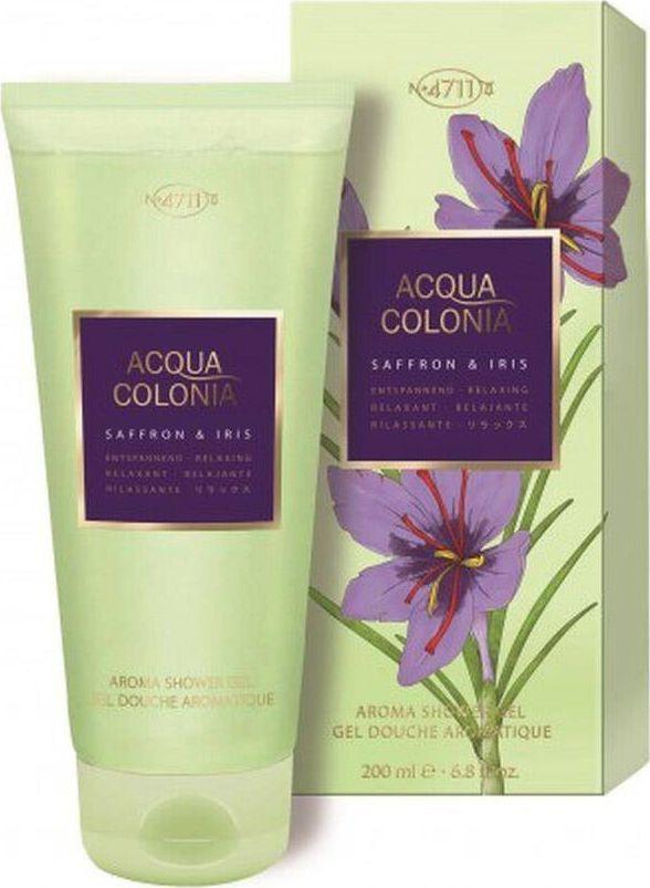 4711 4711 Acqua Colonia Saffron & Iris SHOWER GEL 200ml 1