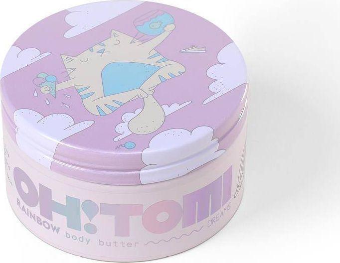 Oh!Tomi OH!TOMI_Masło do ciała Tęcza 200g 1