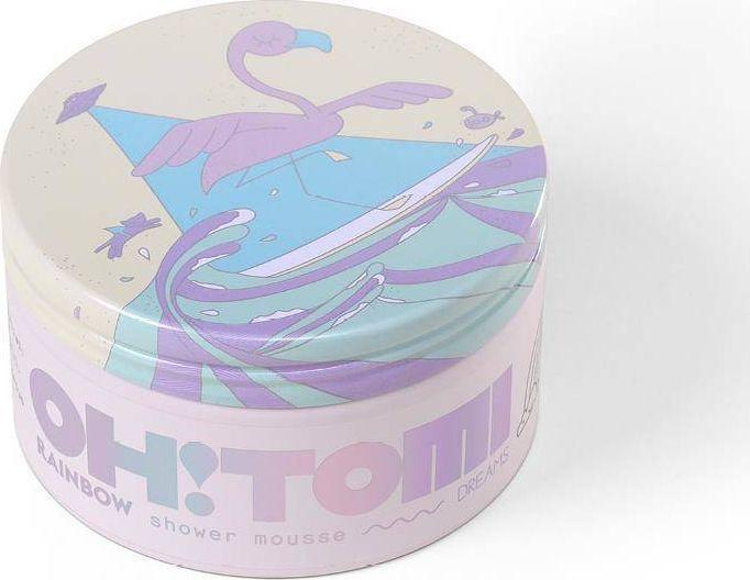 Oh!Tomi OH!TOMI_Pianka do mycia ciała Tęcza 250g 1