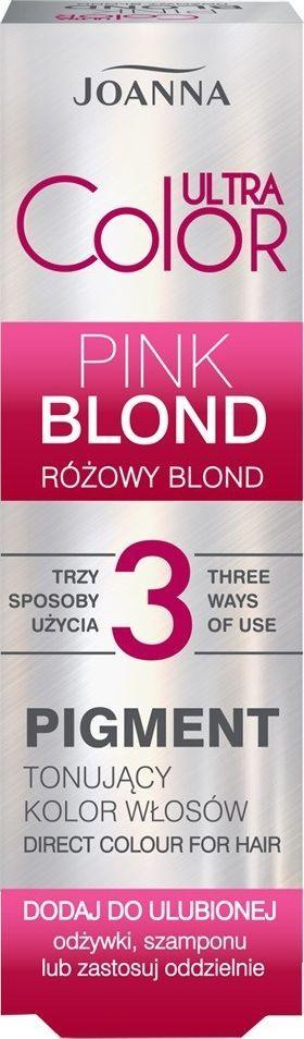 Joanna Pigment tonujący do włosów Różowy Blond 100 ml 1