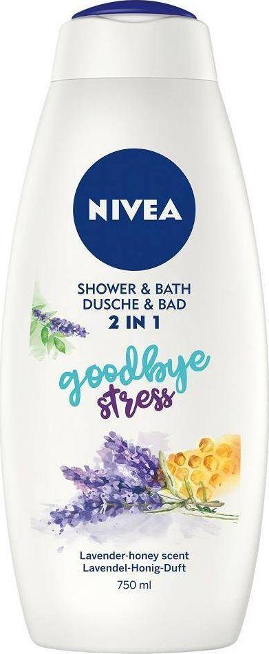 Nivea NIVEA_Shower & Bath płyn do kąpieli i żel pod prysznic 2w1 Goodbye Stress 750ml 1