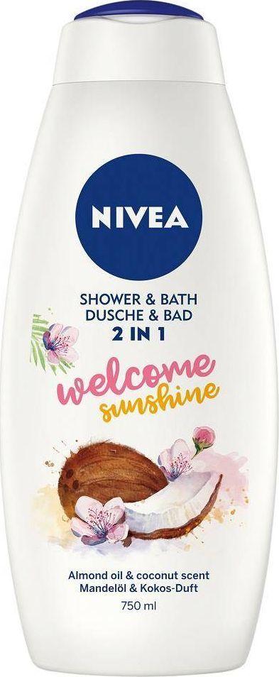 Nivea NIVEA_Shower Bath płyn do kąpieli i żel pod prysznic 2w1 Welcome Sunshine 750ml 1
