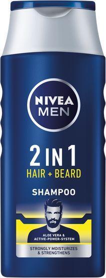Nivea Men Protect Care 2in1 szampon do włosów i brody 400ml 1