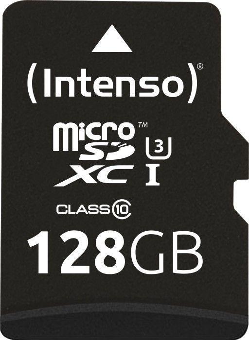 Karta Intenso Professional MicroSDXC 128 GB Class 10 UHS-I/U1  (3433491) 1