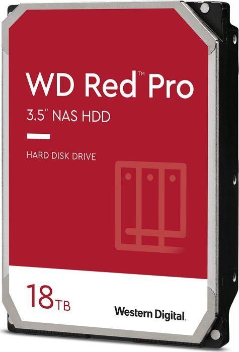 Dysk serwerowy WD Red 18 TB 3.5'' SATA III (6 Gb/s)  (WD181KFGX) 1