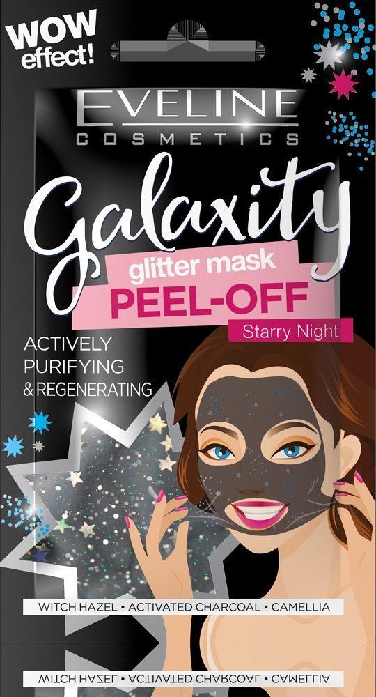 Eveline Galaxity Glitter maska Starry Night  1