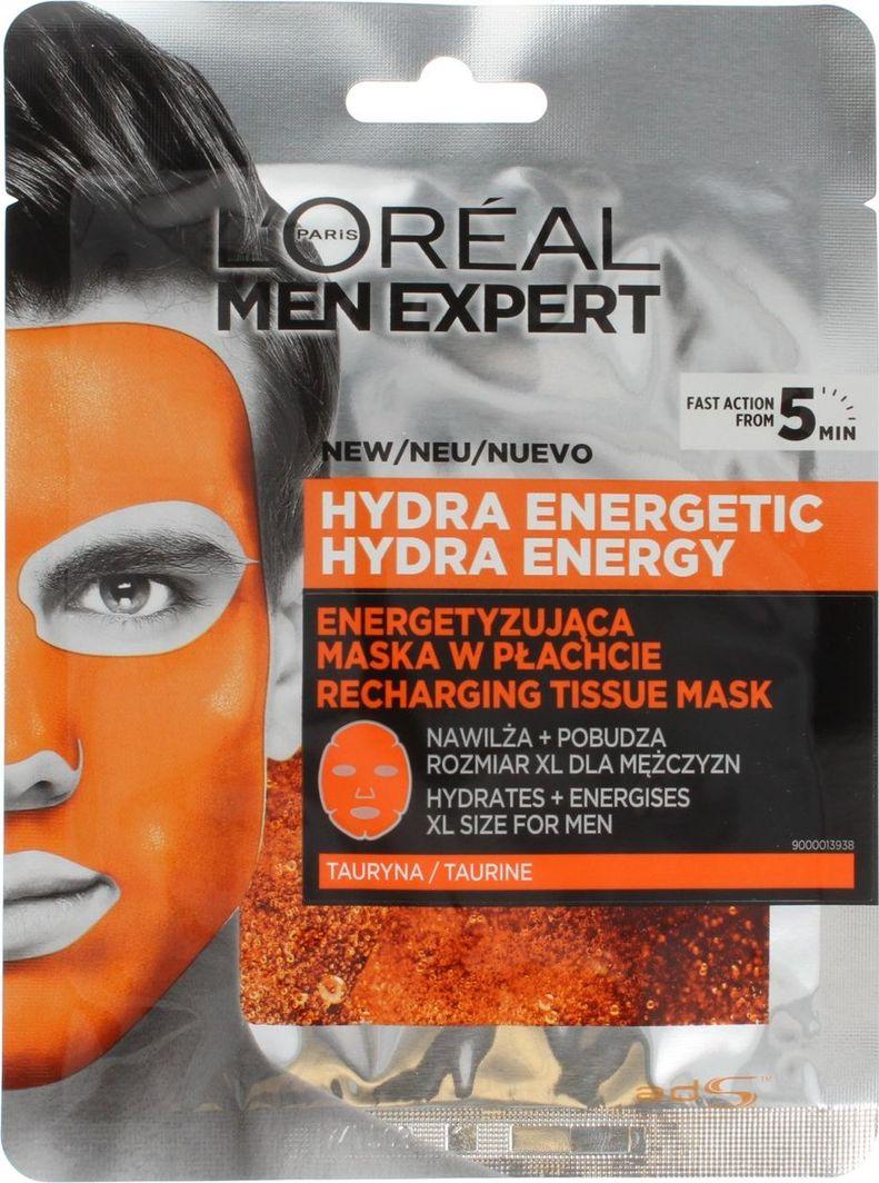 L'Oreal Paris Hydra Energetyzująca maska  1