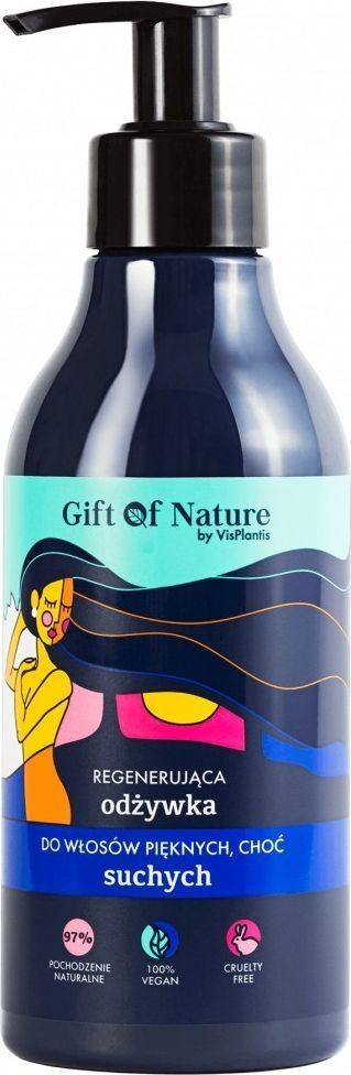 Vis Plantis Gift Of Nature Regenerująca Odżywka do Włosów Suchych 300 ml 1