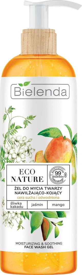 Bielenda Eco Nature Żel do mycia twarzy nawilżająco-kojący Śliwka Kakadu & Jaśmin & Mango 200g 1
