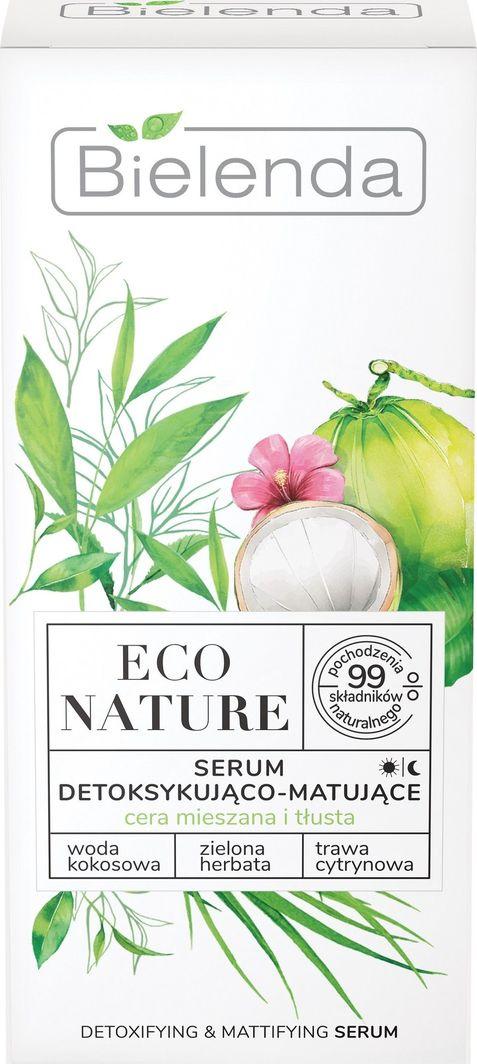 Bielenda Eco Nature Serum do twarzy detoksykująco-matujące 30 ml 1