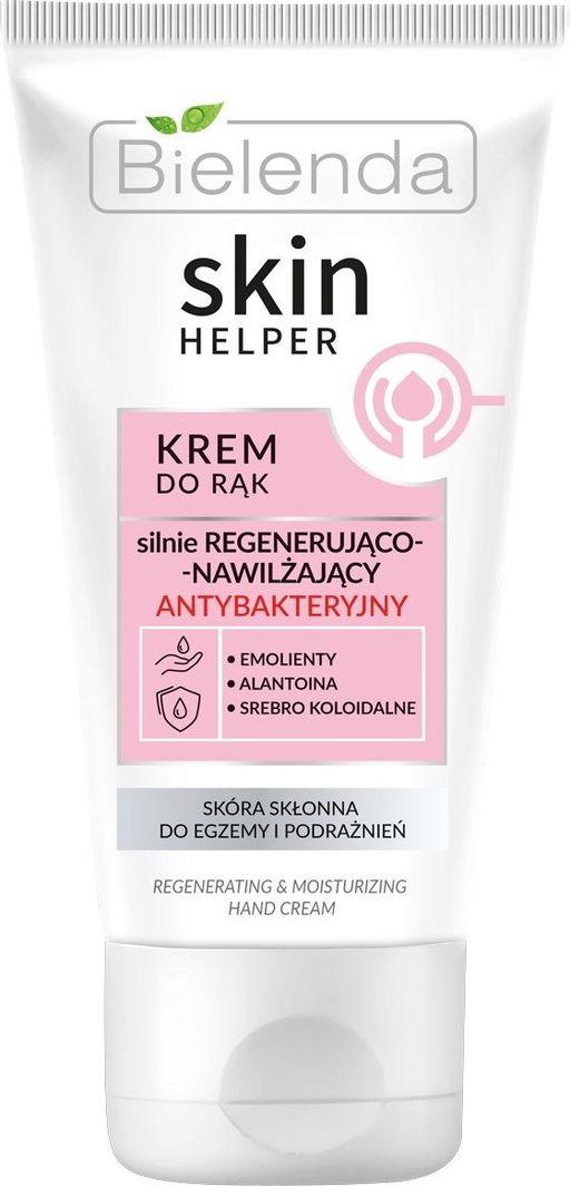Bielenda Skin Helper Krem do rąk silnie regenerująco-nawilżający antybakteryjny 75 ml 1