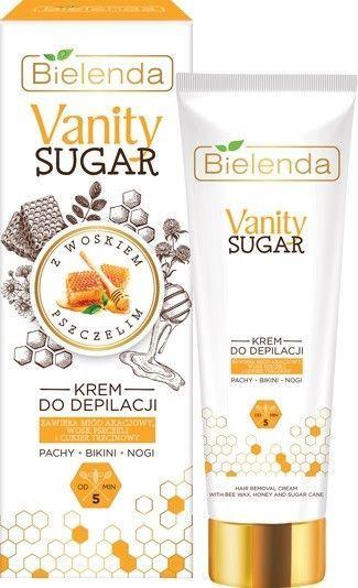 Bielenda Bielenda Vanity Sugar Cukrowy Krem do depilacji - bikini,pachy,nogi 100ml 1