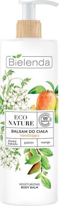 Bielenda  Eco Nature Balsam do ciała nawilżający - Śliwka Kakadu & Jaśmin & Mango 400 ml 1