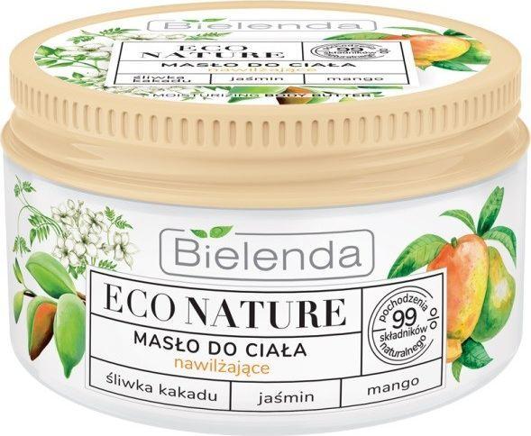 Bielenda Eco Nature Masło do ciała nawilżające - Śliwka Kakadu & Jaśmin & Mango 250 ml 1