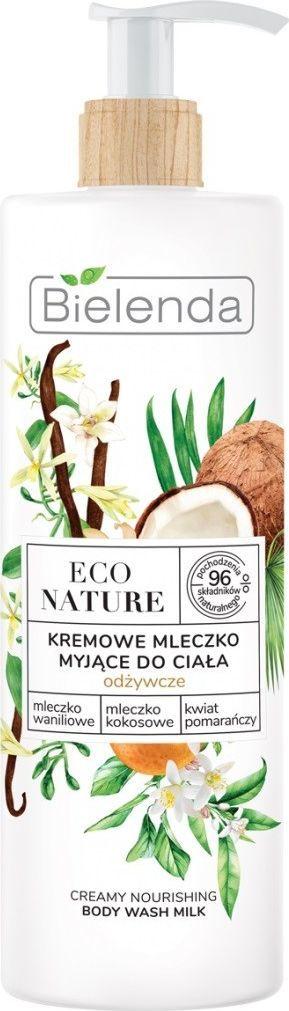 Bielenda  Eco Nature Kremowe Mleczko myjące do ciała odżywcze  400 ml 1