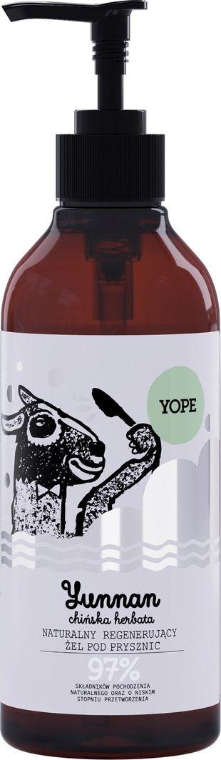 Yope Naturalny Żel pod prysznic regenerujący - YUNNAN 400ml 1