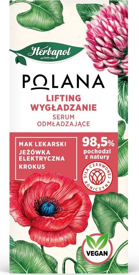 HERBAPOL Polana Serum odmładzające - Lifting i Wygładzanie 30 ml 1