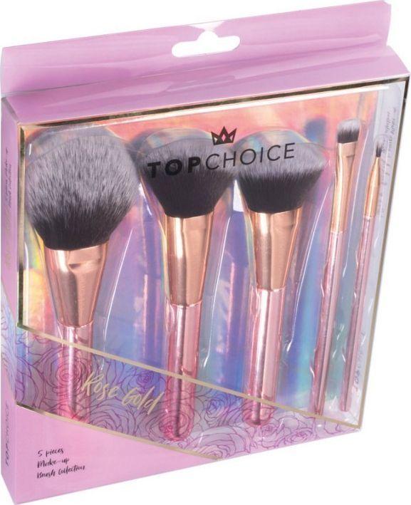 Top Choice Top Choice Zestaw pędzli do makijażu ROSE GOLD (37351) 1szt 1