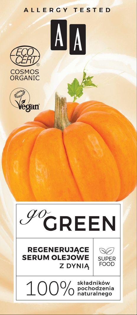 AA Go Green Regenerujące Serum olejowe z dynią 30 ml 1