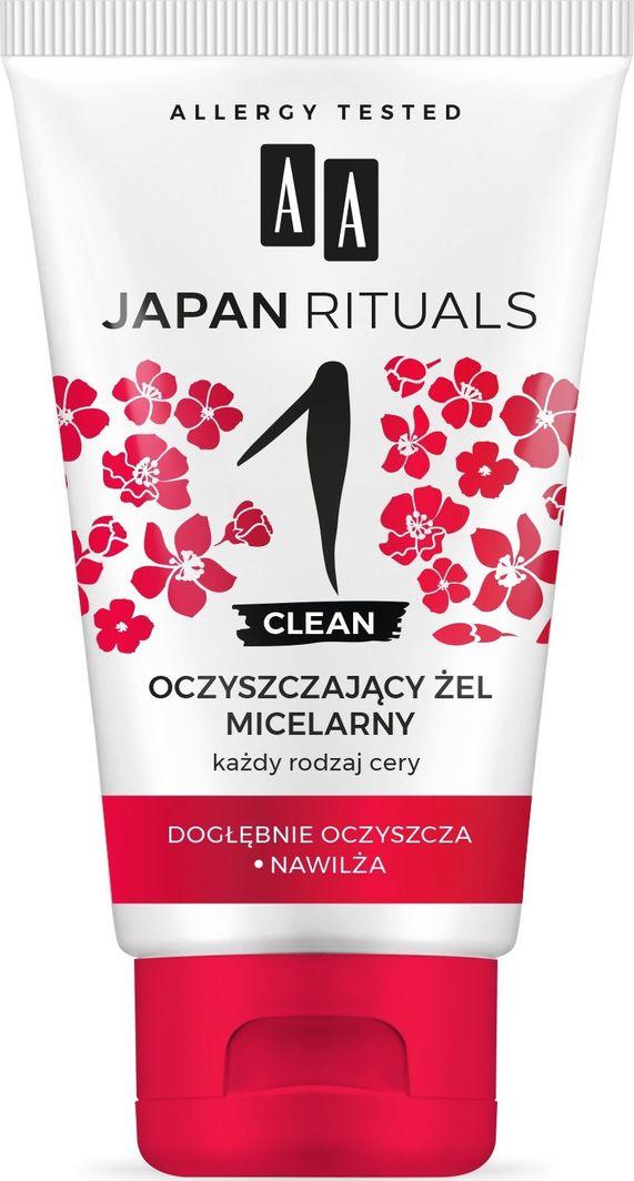 AA Japan Rituals 1 Clean Oczyszczający Żel micelarny - 150ml 1