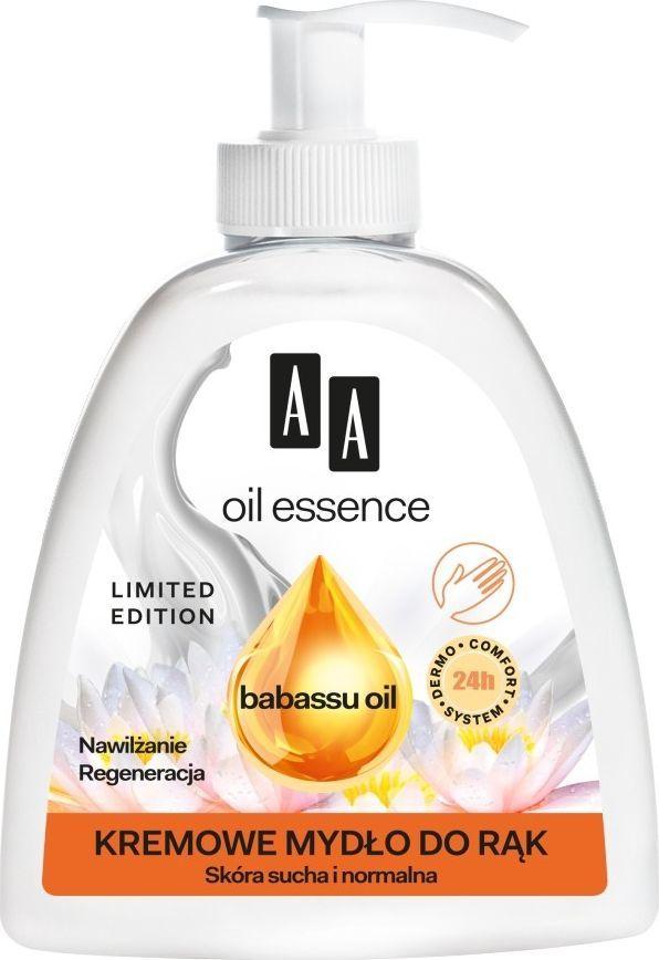 AA Oil  Essence Kremowe Mydło do rąk w płynie Babassu Oil 285ml 1