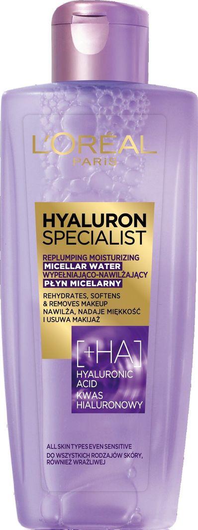 L'Oreal Professionnel Płyn micelarny do demakijażu Hyaluron Specjalist 200 ml 1