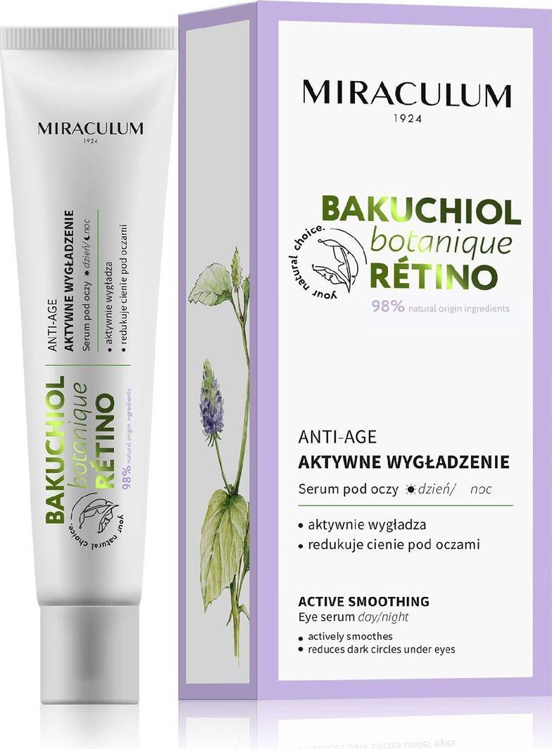 Miraculum  Miraculum Bakuchiol Botanique Retino Serum pod oczy - aktywne wygładzenie 20ml 1