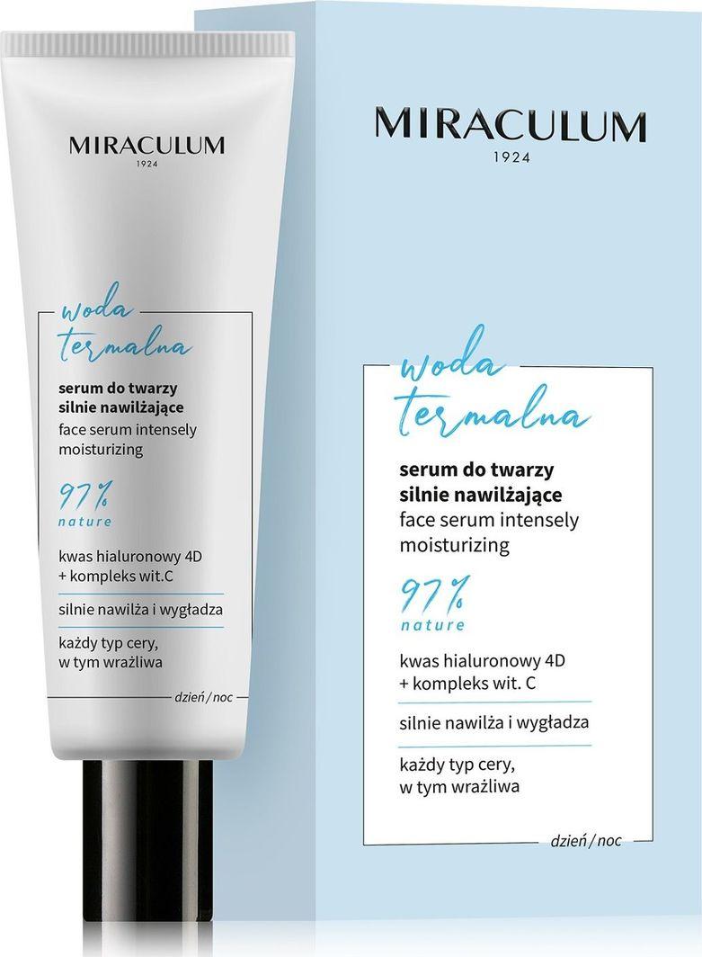 Miraculum   Serum do twarzy silnie nawilżające Woda Termalna 30 ml 1