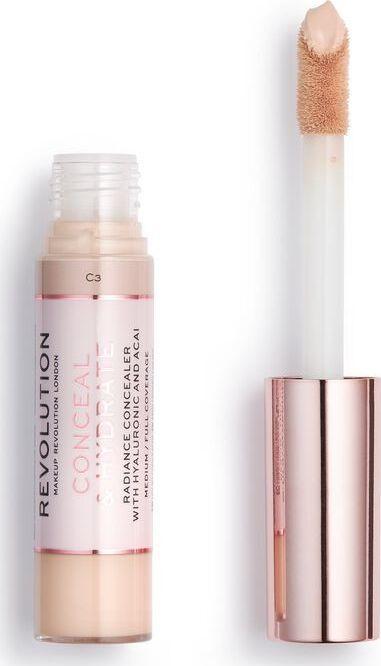 Makeup Revolution Conceal & Hydrate Korektor w płynie C3 13g 1