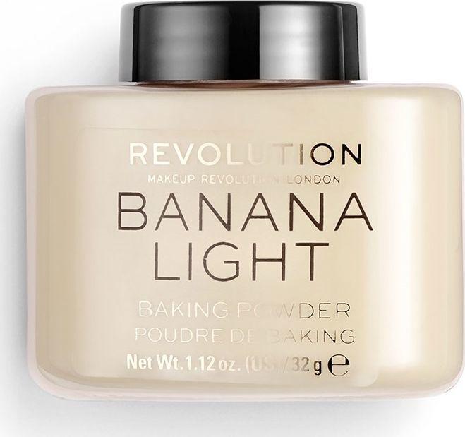 Makeup Revolution Makeup Revolution, sypki puder Loose Baking Powder Banana (Light), 32 g 1