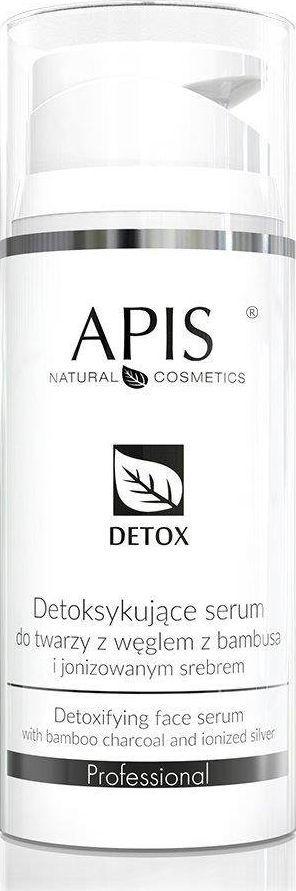 APIS Serum detoksykujące serum do twarzy z węglem z bambusa i jonizowanym srebrem 100ml 1