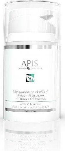 APIS APIS_Exfoliation Acid mix kwasów do eksfoliacji Fitowy + Pirogronowy + Mlekowy + Ferulowy 40% 50ml 1