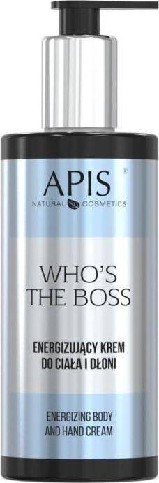 APIS APIS_Who's the Boss energizujący krem do ciała i dłoni 300ml 1