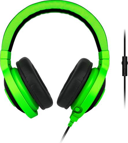 Słuchawki Razer Kraken Pro 2015 Zielone (RZ04 01380200 R3M1) ID produktu: 764549