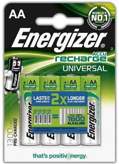 Energizer Akumulator Universal AA / R6 1300mAh 4szt. 1