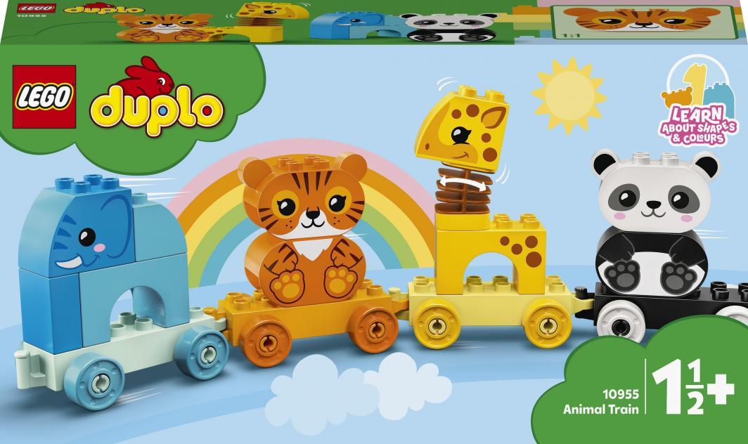 LEGO Duplo Pociąg ze zwierzątkami (10955) 1