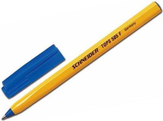 Schneider Długopis Tops 505, F, niebieski (4004675004567) 1