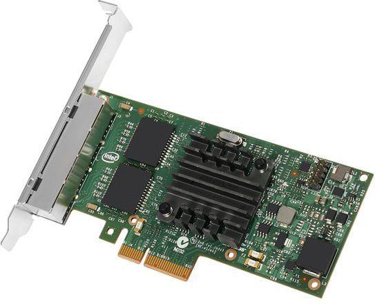 Karta sieciowa Intel I350-T4V2 (I350T4V2BLK) 1