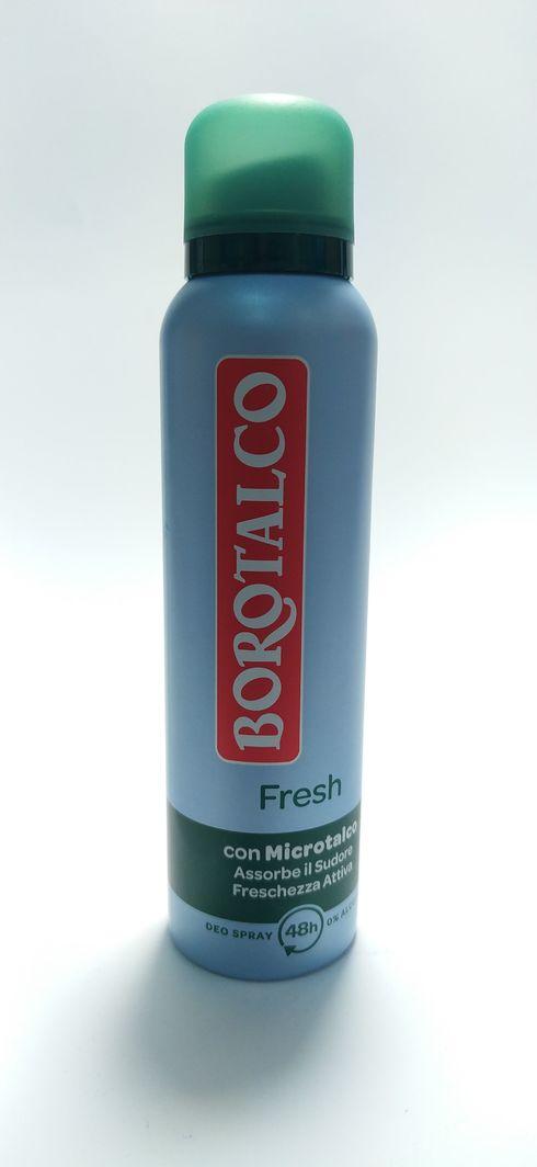 Borotalco Dezodorant 150ml fresh 1