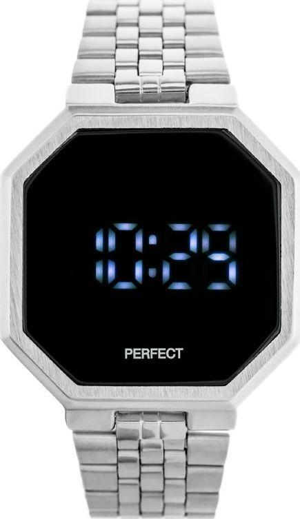 Zegarek Perfect ZEGAREK LED PERFECT A8034 (zp917a) uniwersalny 1