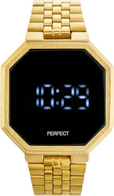 Zegarek Perfect ZEGAREK LED PERFECT A8034 (zp917b) uniwersalny 1
