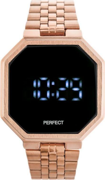 Zegarek Perfect ZEGAREK LED PERFECT A8034 (zp917c) uniwersalny 1