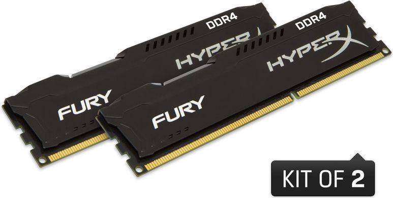 Pamięć HyperX Fury, DDR4, 16 GB, 2666MHz, CL15 (HX426C15FBK2/16) 1